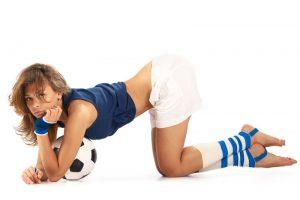 女性サッカーファン